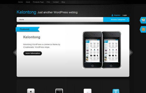 e-Commerce Theme: Kelontong