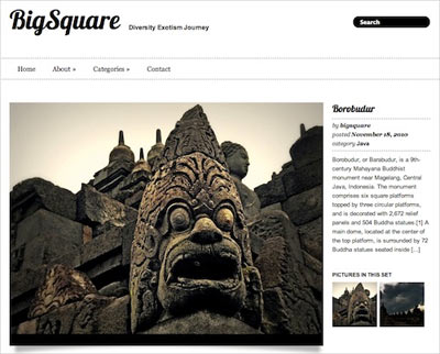 tema wordpress Big Square