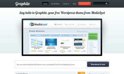tema wordpress Graphite