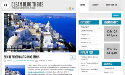 tema wordpress Ophion