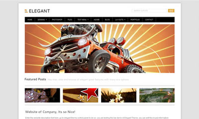 tema wordpress Elegant