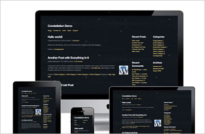 tema wordpress Constellation