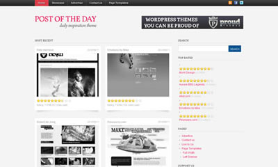 tema wordpress Muse