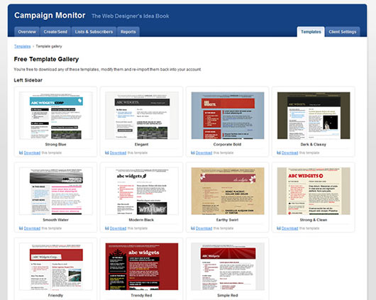 Campaign Monitor - Personalizar templates Email Marketing