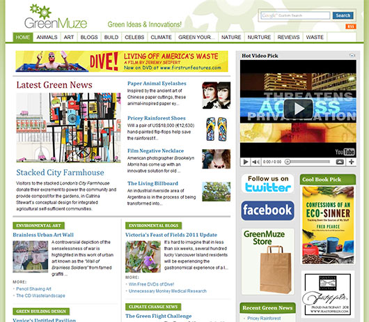 GreenMuze - Sites em Joomla