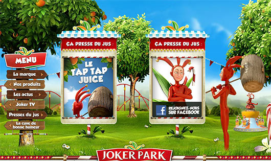 JOKER PARK - Sites feitos em Flash