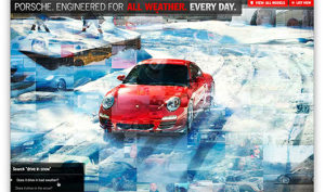 Porsche Everyday - Sites feitos em Flash