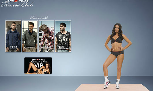 Jack & Jones Fitness Club - Sites feitos em Flash