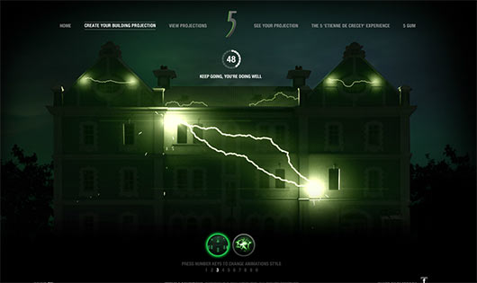 5 Gum - Sites feitos em Flash