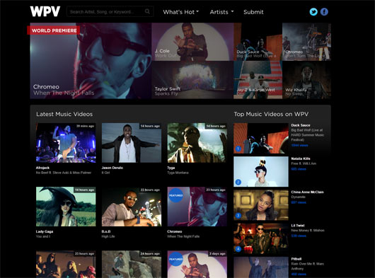 World Pop Videos - Sites em WordPress