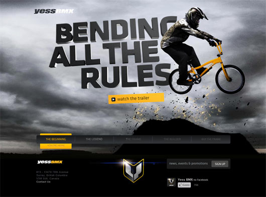 YESS BMX - Sites em WordPress