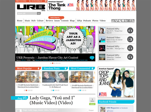 URB - Sites em WordPress