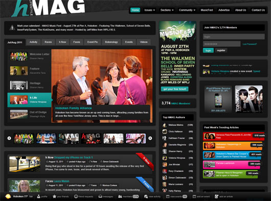 hMAG - Sites em WordPress