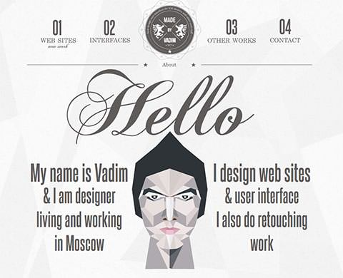 Made by Vadim - Portfolio Online