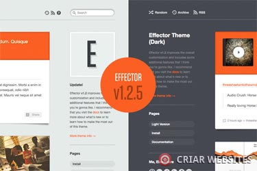Effector Theme - Tema para Tumblr