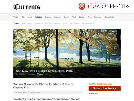 Currents - templates WordPress WooThemes