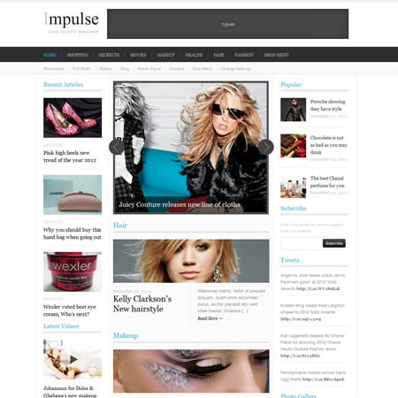 Impulse - Clean Magazine Theme