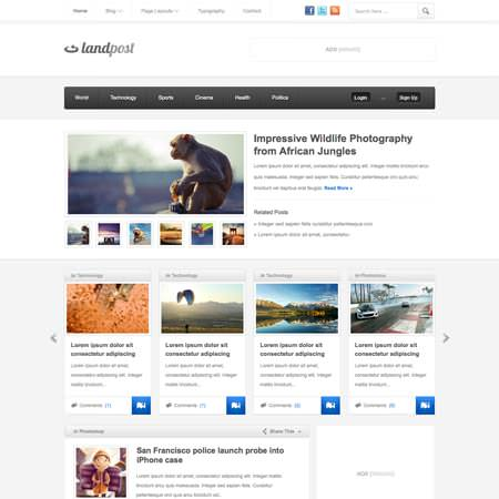 Landpost - Premium WordPress Magazine