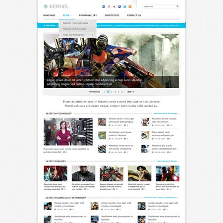Kernel - Premium WordPress Blog