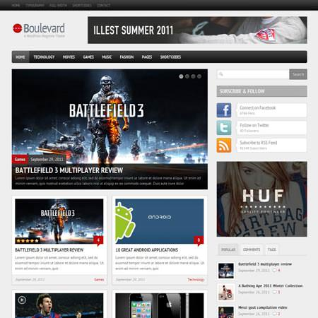 Boulevard - WordPress Magazine Theme