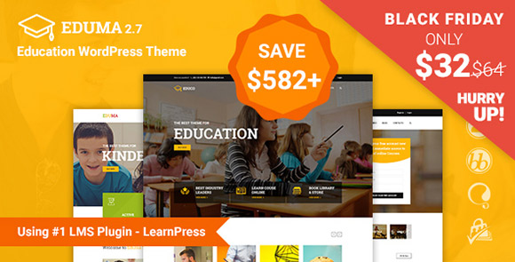 Tema WordPress Eduma